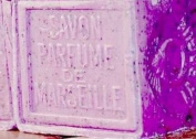 Savon de Marseille (Marseille Soap) with Pure Crushed Local Flowers from France