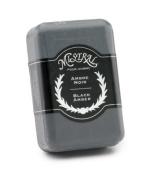 Mistral Men's Soap, Black Amber, 250 Grammes