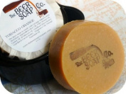 Tobacco Orange Beer Soap- Made with Irish Red Ale