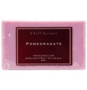 Aromatherapy Pomegranate Triple Milled Shea Butter Soap 240ml By K Hall