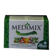 Medimix Hand Made Ayurvedic Soap With 18 Herbs 115G