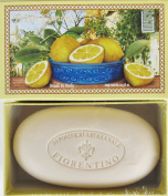 Saponificio Artigianale Fiorentino Fresh Lemon Single 310ml Soap Bar From Italy