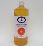 Carolina Castile Soap Orange w/Organic Macadamia Nut Oil & Cocoa Butter - 950ml