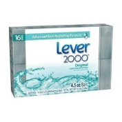 Lever 2000 Moisturising Bar, Perfectly Fresh Original, 120ml Bars in 16-count Package