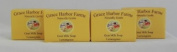 Goat Milk Soap (4-Four Ounce Bars) Lemongrass