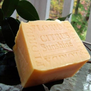 (SPECIAL LARGE AGED) Handmade Florida - Citrus Sunshine with Mango Butter Soap 330ml Bar