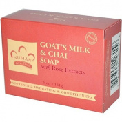 Nubian Heritage Bar Soap Goat's Milk And Chai - 150ml Nubian Heritage Bar Soap Goat's Milk And Chai