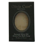 Olivia Care Bath & Beauty Natural Olive Oil Bath Soap - Green Tea - 240ml