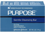 Purpose Gentle Cleansing Face Soap Bar, Oil-Free Large Size 180mls