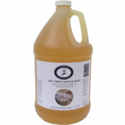 Carolina Castile Soap Tea Tree w/Organic Cocoa Butter & Pumpkin Seed Oil- 3.8l
