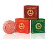 3 Boxes Assorted Madame Heng Natural Beauty Care Spa Soap : Mint, Rose & Wood Product of Thailand