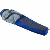 Wenzel Santa Fe 3 Season Mummy Sleeping Bag (-7c) Blue/Grey