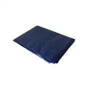 Yuzet 1 x Blue 2.4m x 3m Heavy Duty Waterproof Tarpaulin Ground Sheet Cover