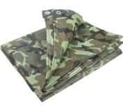 1.8m x 2.4m camouflage tarpaulin waterproof sheet cover ground ground army camo