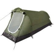 Schwarzenberg Tunnel Tent Camping Festivals Bushcraft Outdoor 1 Person Olive