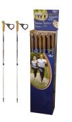 Hudora Nordic Walking Pair of Telescopic walking poles - 81-140 cm