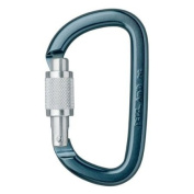 Petzl Am'D Screw D-shaped carabiner for connecting devices on harnesses