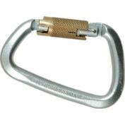 "Liberty Steel Modified ""D"" Carabiner Twist Lock"