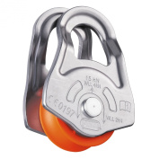 Petzl Oscillante Climbing pulley grey/orange
