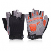 Umove riding gloves bike half-finger gloves mountain biking gloves wicking breathable shockproof gloves