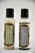 TRAVEL SIZE! Neem Bark Herbal Essentials Blend Shampoo & Conditioner Head to Toe Total Cleansing System