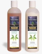 Neem Bark Herbal Essentials Blend Shampoo & Conditioner Head to Toe Total Cleansing System