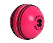 grey-NICOLLS Pink Wonderball Cricket Ball