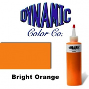 DYNAMIC BRIGHT ORANGE 30ml Tattoo Ink Brite Vibrant & Dark Colour Tattoo Supply