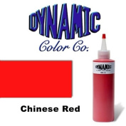DYNAMIC CHINESE RED 30ml Tattoo Ink Brite Vibrant & Dark Colour Tattoo Supply