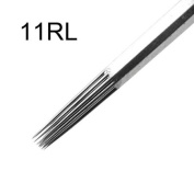 Generic 50pcs Health Safety Stainless Steel Professional Tattoo Needles 11 Round Liner 11RL