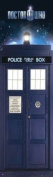 Television Door Poster featuring The Iconic Tardis from the Sci Fi Series, Doctor Who 53x158cm