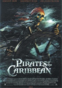 Pirates of the Caribbeans Poster death´s head
