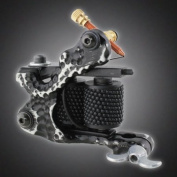 Pro Tattoo Machine Gun for Liner Shader Custom Dual 10-wrap Coils Supply Set