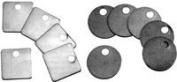 Blank Metal Tags (CH Hanson Series 311) Model 1078A / 2.5cm Round Aluminium