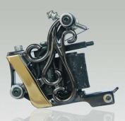 Premium Copper Wire Coils Tattoo Machine Liner & Shader, Black, OTW-M303-2