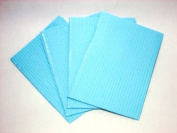 DENTAL BIBS SHEETS THICK 3ply 33cm x43cm 125-PACK Blue Tattoo Supply