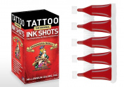 Philadelphia Eddie's Tattoo Ink Shots - Traditional Red - 30 Per Box
