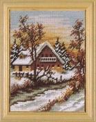 Winter Cottage Tapestry Kit - Tapestry Kit