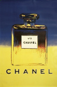 ANDY WARHOL c1964 Chanel (Yellow) 250gsm Gloss ART CARD A3 Reproduction Poster