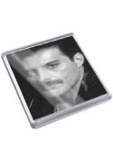 FREDDIE MERCURY - Original Art Coaster #js001