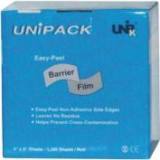 Barrier Film - Unipack Barrier Film 4'' x 6'' - Tattoo Medical Supply