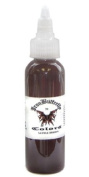 Iron Butterfly ink -SADDLE BROWN 120ml Bottles -Tattoo Supplies-
