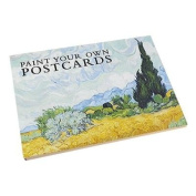 Paint Your Own Postcards
