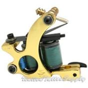 NEW Professional Tattoo Machine Gun 10 wrap coils Shader Liner TM-S002
