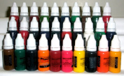 Iron Sakura Tattoo INK Pigment High Quality 30 Colours 15ml or 1/2oz Each 30 inks