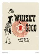 Whiskey a Go Go - Vintage Pop Art Poster Print