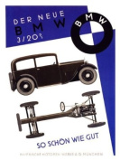 BMW 1931 Car Advert Print - 40 x 30 cms