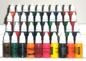 Iron Sakura Tattoo INK Pigment High Quality 40 Colours 15ml or 1/2oz Each 40 inks