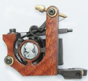 NEW Professional Tattoo Machine Gun 10 wrap coils Shader Liner TM-S057