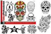 Tattoo Professionalist #8 Skulls for All Tattoos 86-Page Flash Book